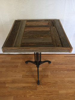 Cast Iron Pedestal Table