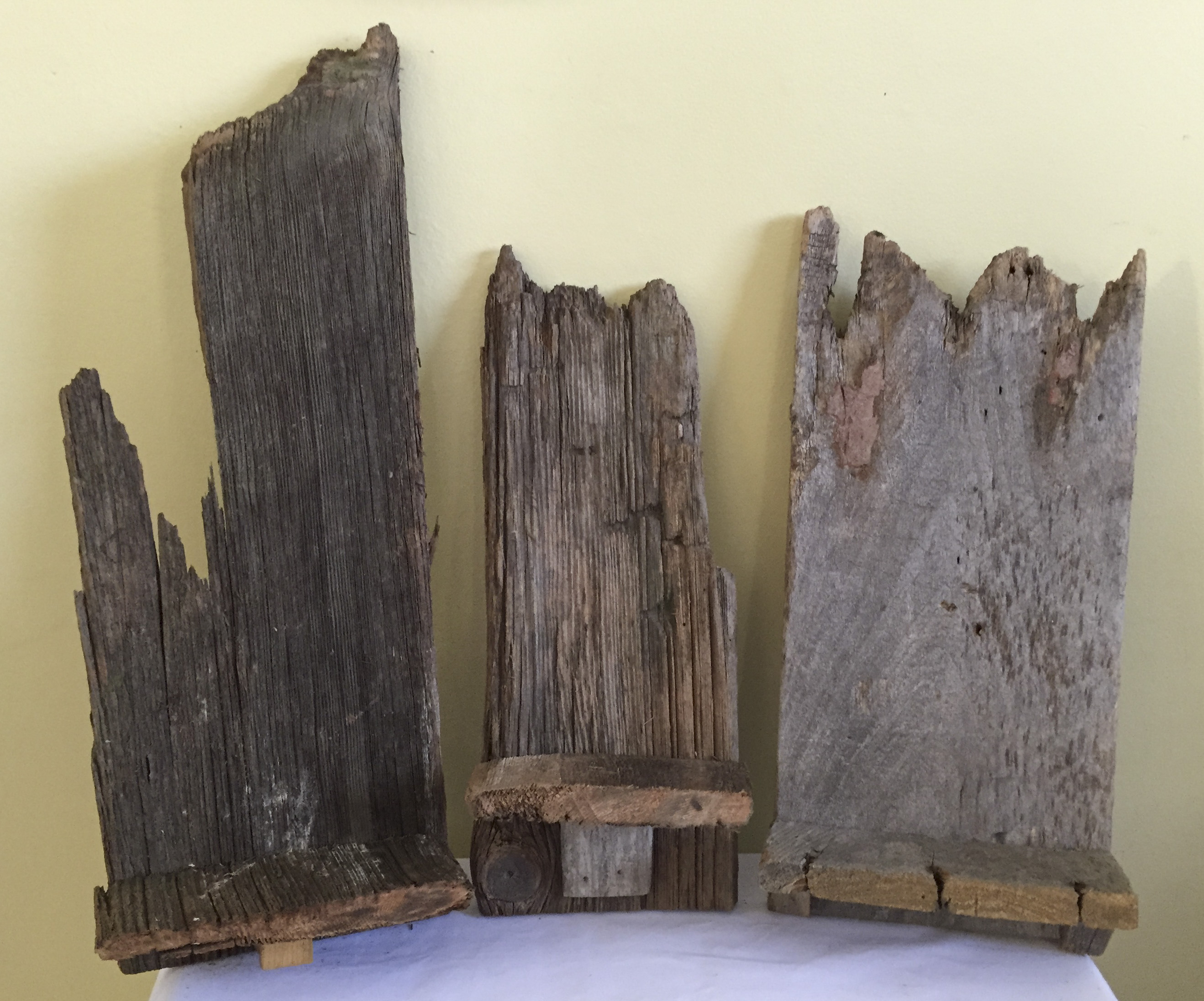 Barn Wood Candle Sconces