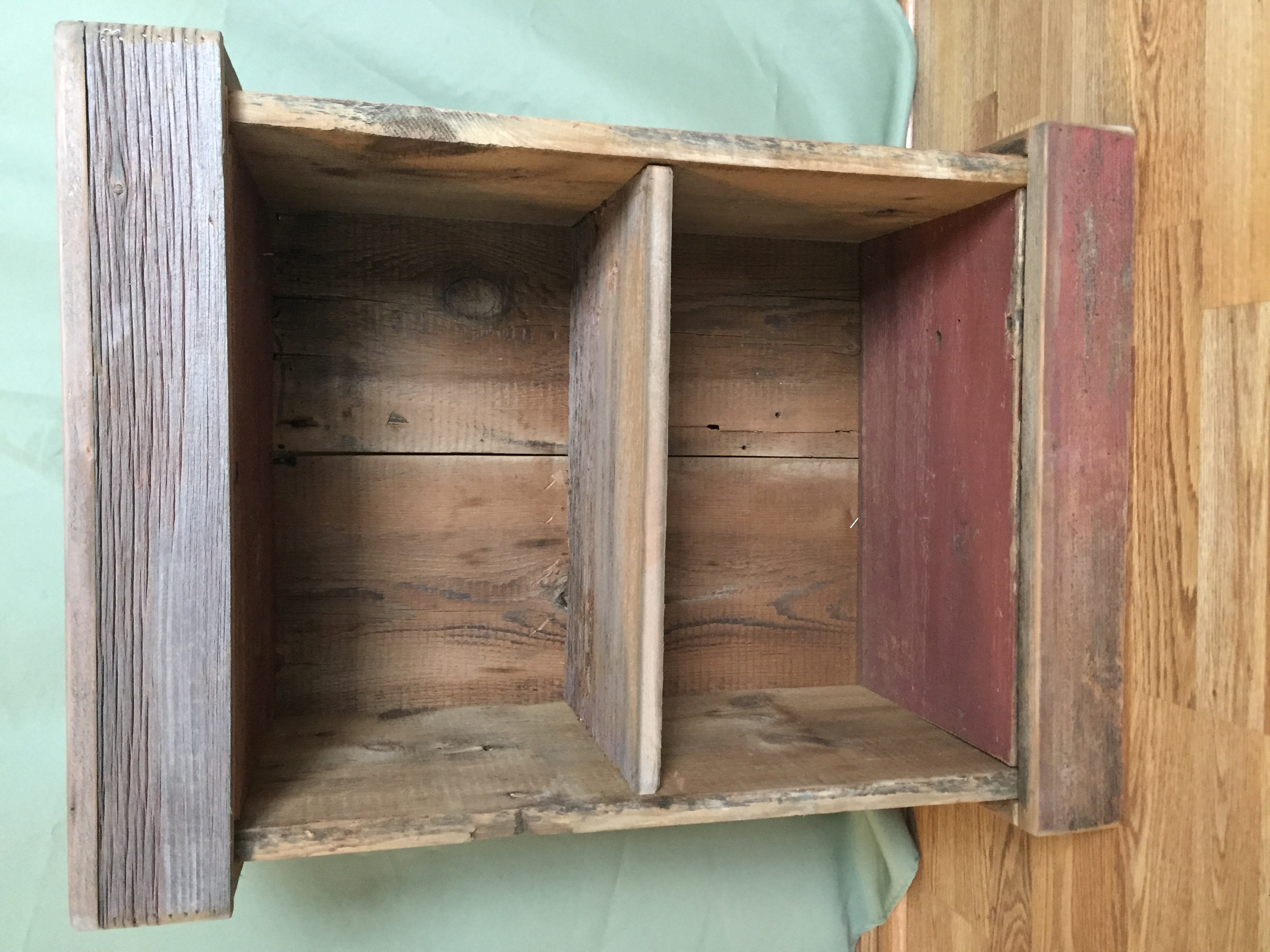Barnwood Bedside Conceal  Table
