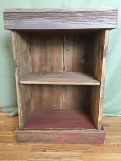 Barnwood Bedside Conceal  Table