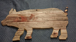 Custom Order barn wood Pig