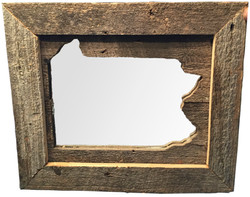 Framed Mirrored State