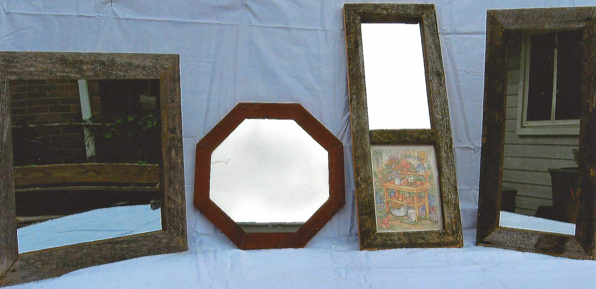 Barn Wood Mirrors