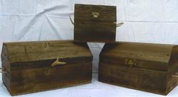 Barn Wood Treasure Chests