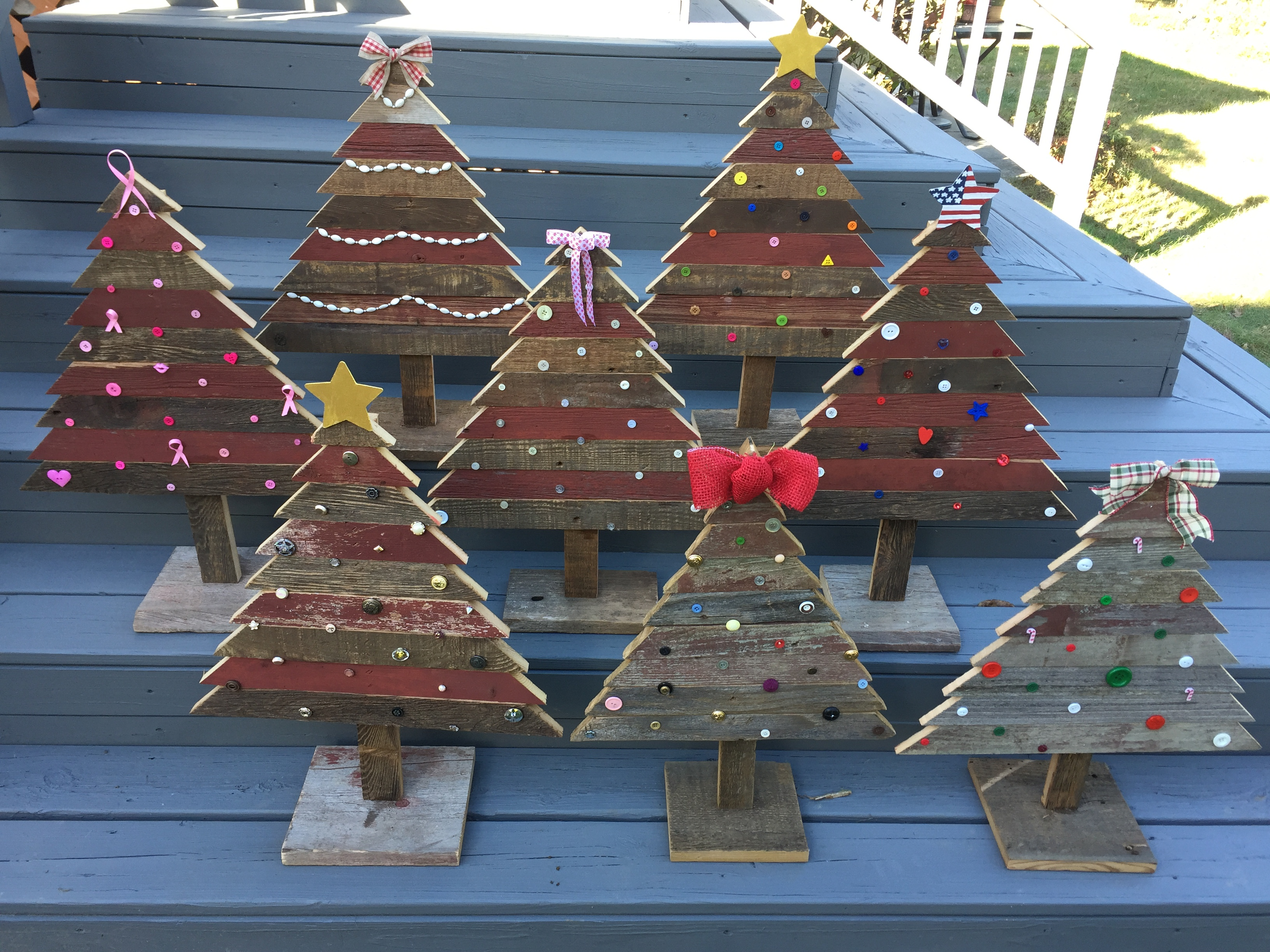 Barn Wood Christmas Trees