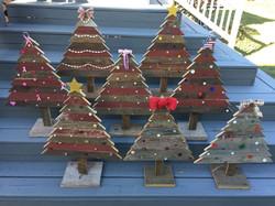 Barn Wood Christmas Trees