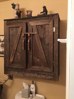 Barn wood Wall Cabinet