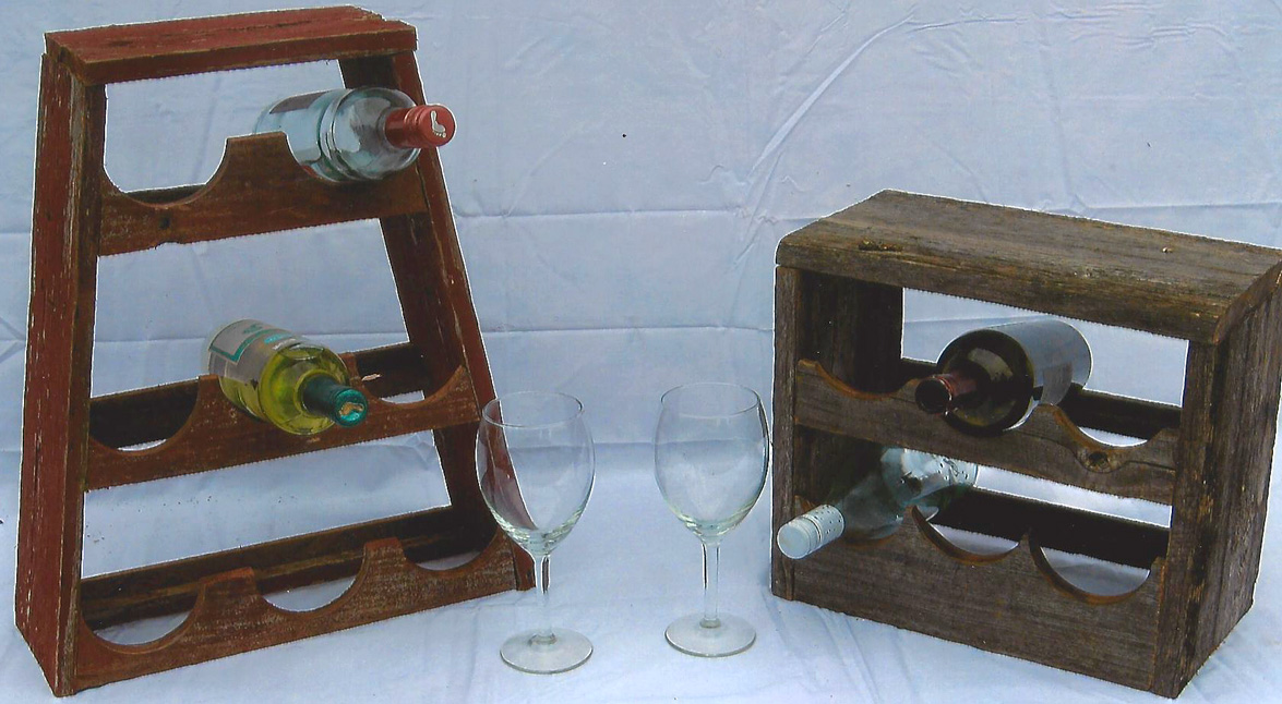 Counter Top Wine Racks