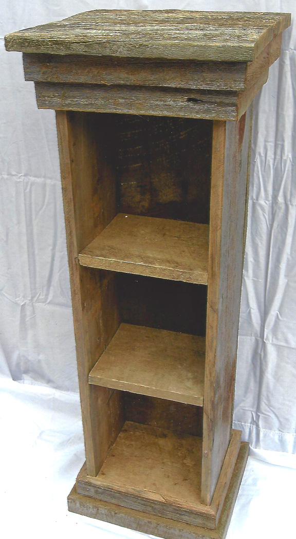 Short Narrow Standing Shelf