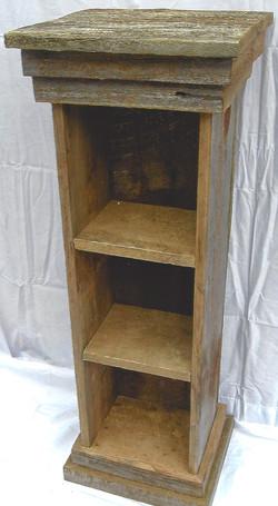 Short Narrow Standing Shelf