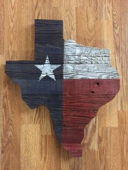 Painted Barn Wood Texas