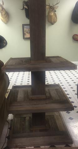 3 Tier Pole Table