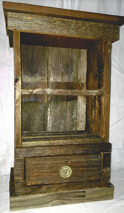 Rustic Nightstand or Side Table