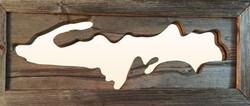 Mirror of Michigan's Upper Peninsula