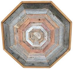 Barn Wood Octagon Coffee Table
