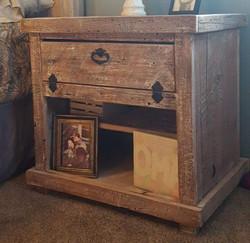 Barn Wood Side Table
