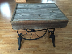 Barn wood table top