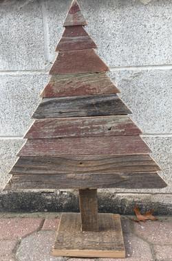 Rustic Barn Wood Christmas Tree