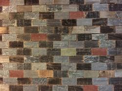 Multi Color Brick Pattern Tray
