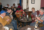 Trad session during Culture Night 2019.