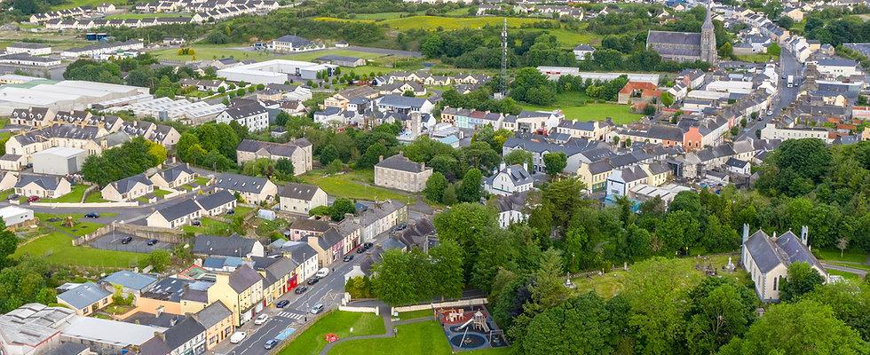 Ballyhaunis town, photo by Adam Kaczmarek AK Photography