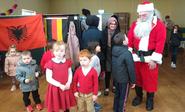 Santa meets children in Ballyhaunis for Christmas 2019.