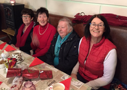 Tidy Towns Committee hold their 2019 Christmas Party at Dalgan Restaurant.