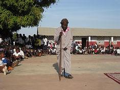 A farmer's life, een voorstelling in Gambia door Learn2Learn in samenwerking met Marjella Rooduijn