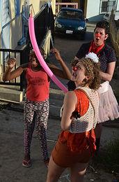 Ballonenvouwer, De Boel op Stelten