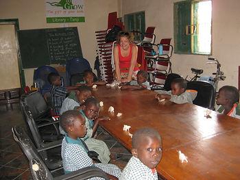 Gambia, acitiviteit voor school door Marjella Rooduijn