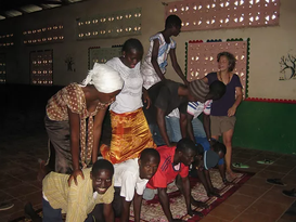 Circusles in Gambia