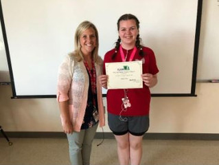 2018 FLAM Excellence in Foreign Language Studies Award Recipient: Madison Rock