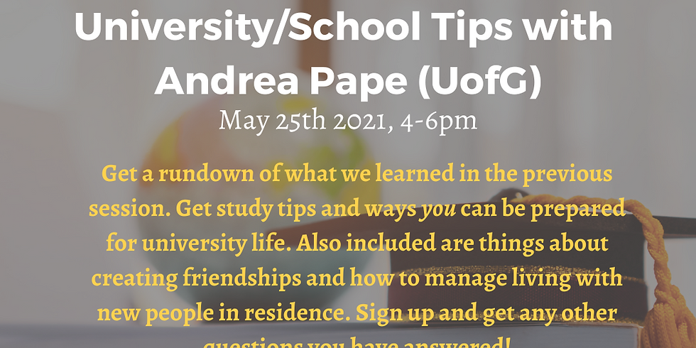 Adulting 101 - UNIVERSITY/SCHOOL TIPS!