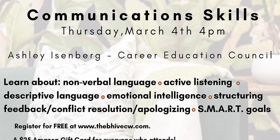 Adulting 101 - Communications Skills!