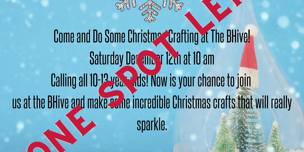 Christmas Crafting for 10-13 Year-Olds