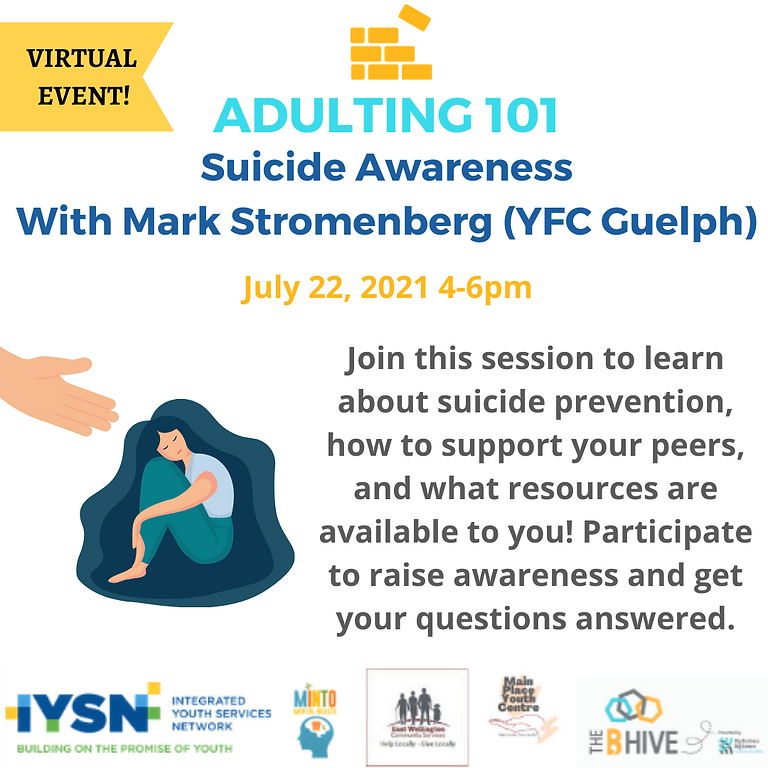 Adulting 101 - Suicide Awareness