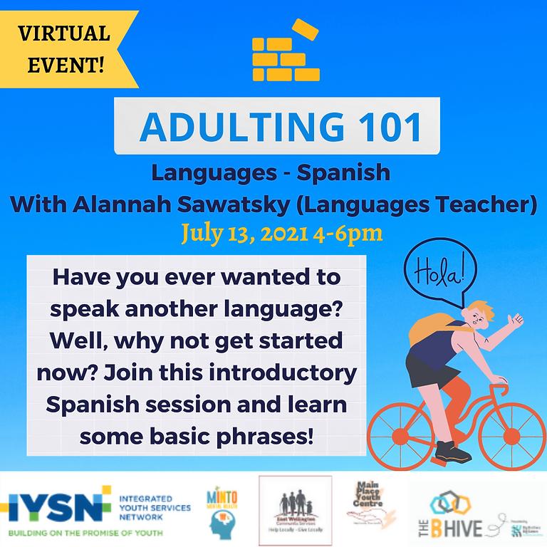 Adulting 101 - Languages (Spanish)