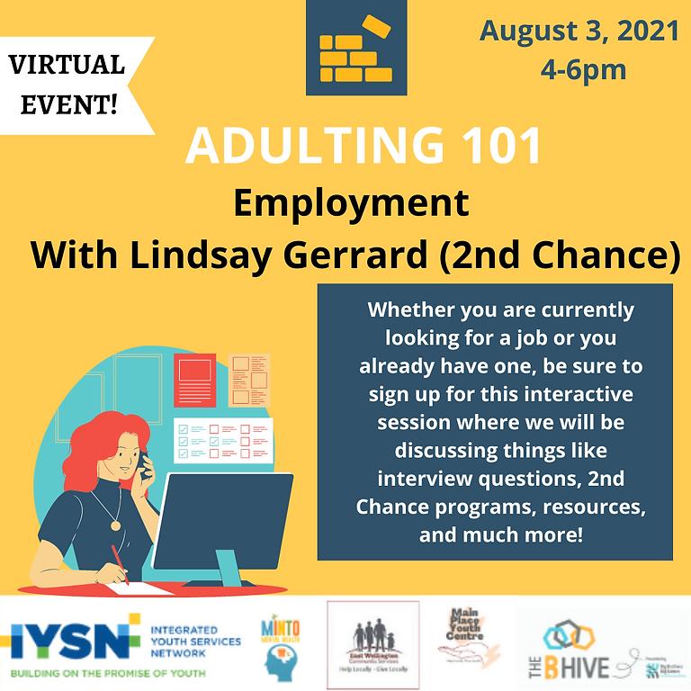 Adulting 101 - Employement