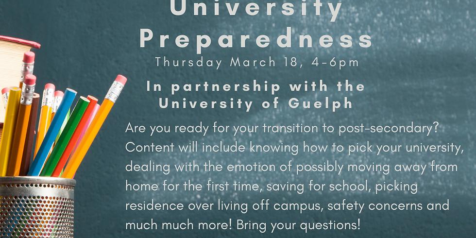 Adulting 101 - University Preparedness