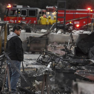 Devastating Fires Rage Throughout California