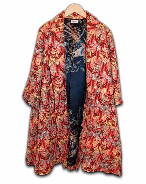 Colorful coat Moroccan brand Topolina Conceptstore Gent