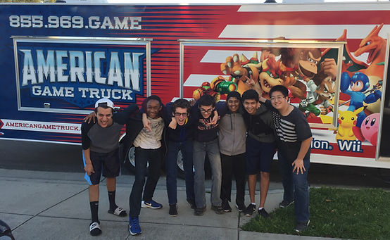 American Game Truck for all ages