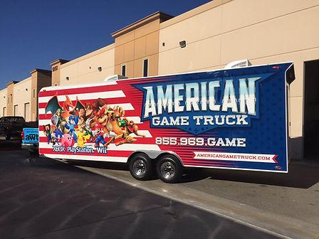 American Game Truck Passenger Side