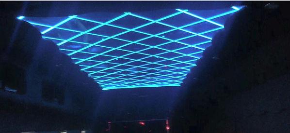 Interior LED lit ceiling