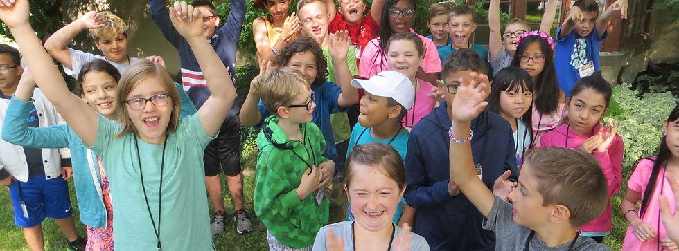TCC kids at vacation Bible school