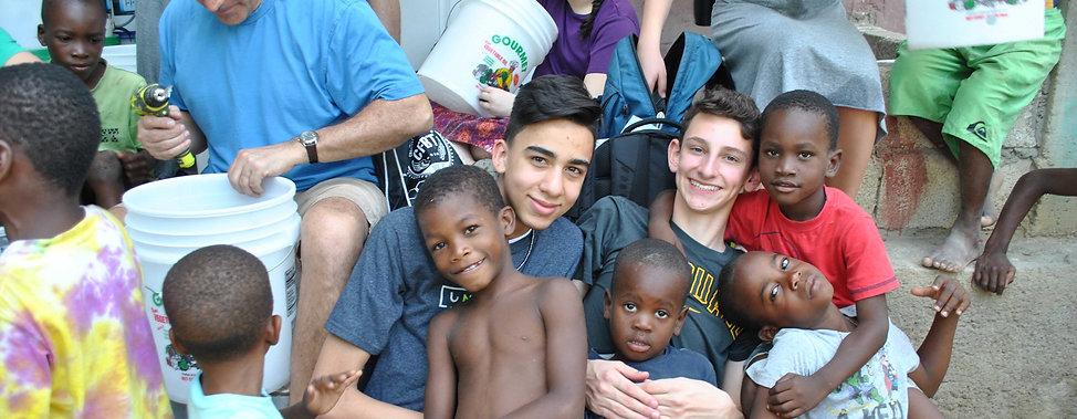 Trinity Communion Church youth mission trip