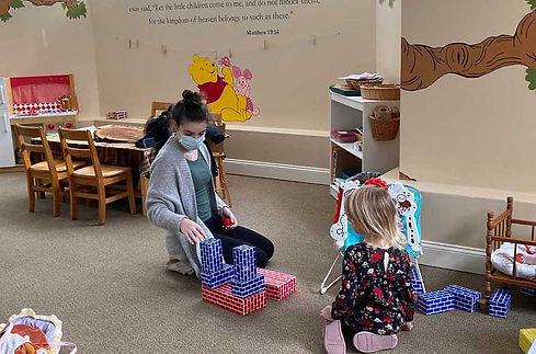 TCC Nursery kids at play