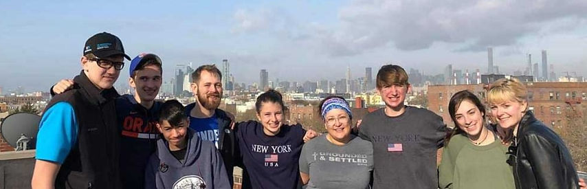Youth mission trip to NYC
