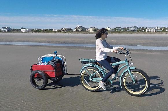 E-bike with trailer