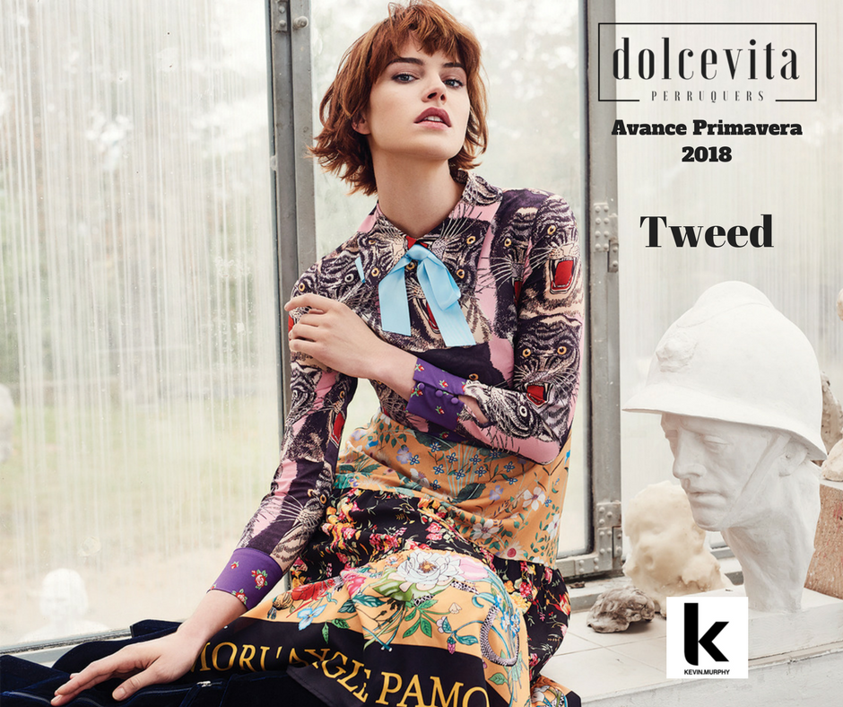 Art School Tweed Dolce Vita Perruquers